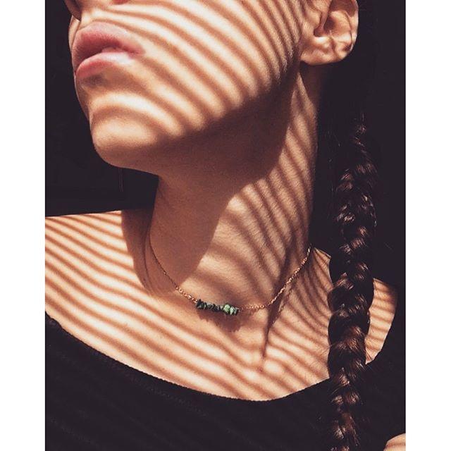 new tiny crystal necklace  #tinyjewelry #crystals #bohemian #minamalism #finejewelry #bohostyle #bohojewels #minimalistfashion