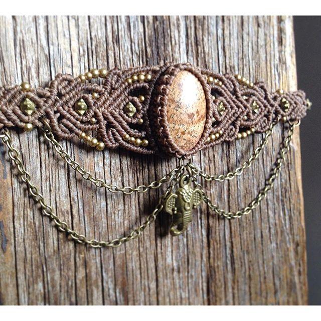 〖 elephant upper arm bracelet 〗#macrameart #macramejewelry #coachella #bohostyle #upperarm #gipsychic